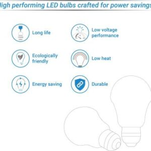 Syska Led Lights 12W Standard B22 LED Bulb (White, Pack of 2)