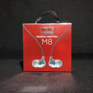 KDM M8 Earphone,Universal Handsfree Headphone, handset, Compatible with All Smartphones