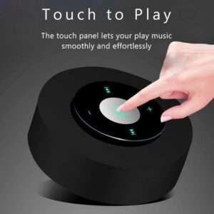 Clavier LED Touch Design 4.1 Bluetooth Speaker with HD Sound, Micro SD Support for iPhone/iPad/Tablet/Laptop/Echo Dot