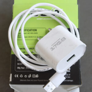 BOLTE BTC-01 Mobile Charger (White, Cable Included)