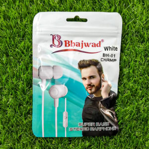 Bhajwad Earphone BH-01 (color White)