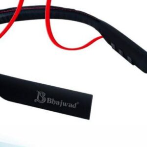 Bhajwad Bluetooth BT-10 30Hours Music Time Leather Wireless Headset Bluetooth Headset(Red color)