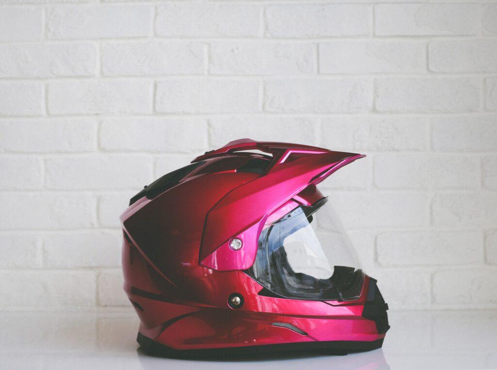 Pink Helmet