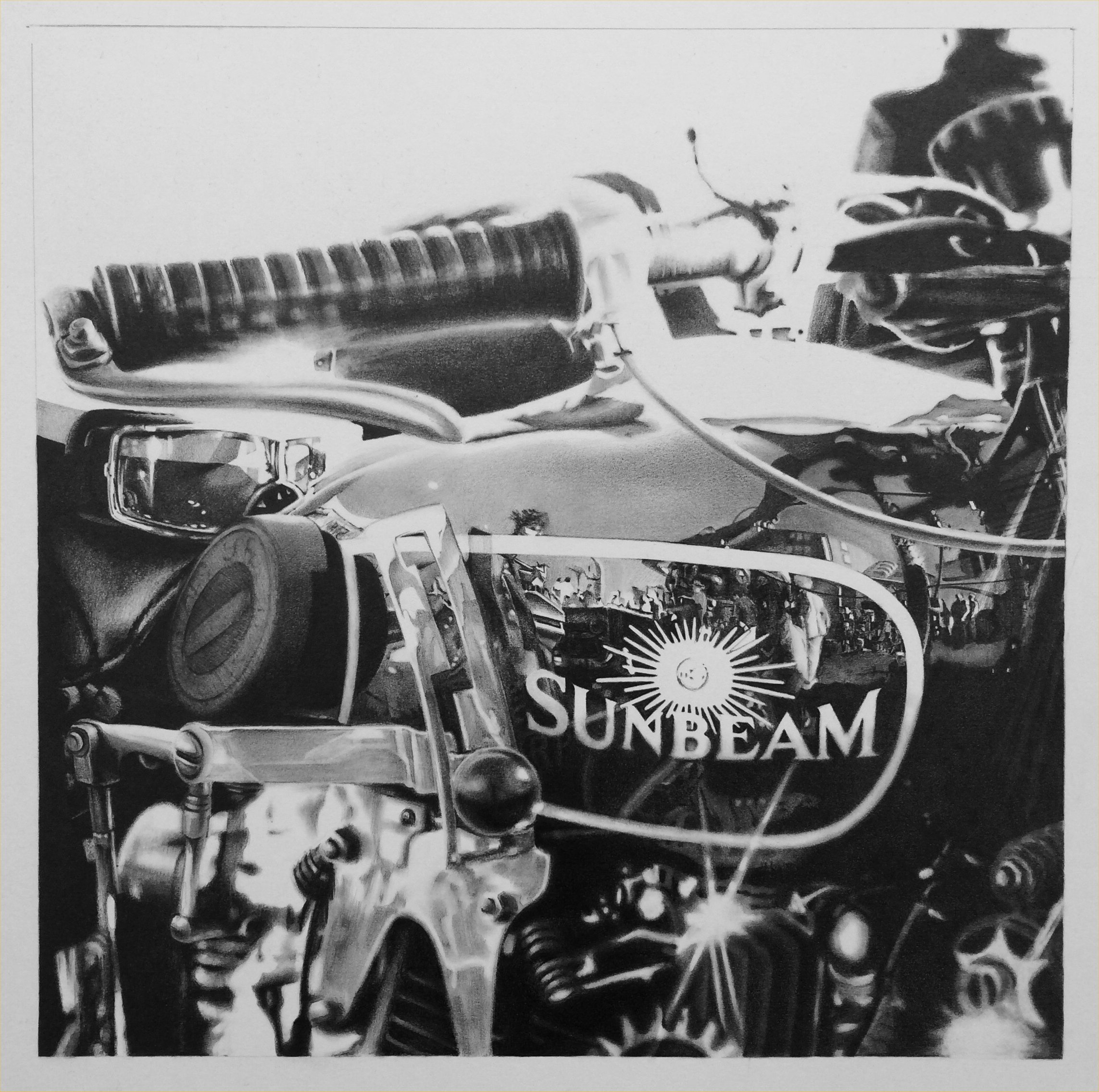 Riding on a Sunbeam by Lou Sprockett