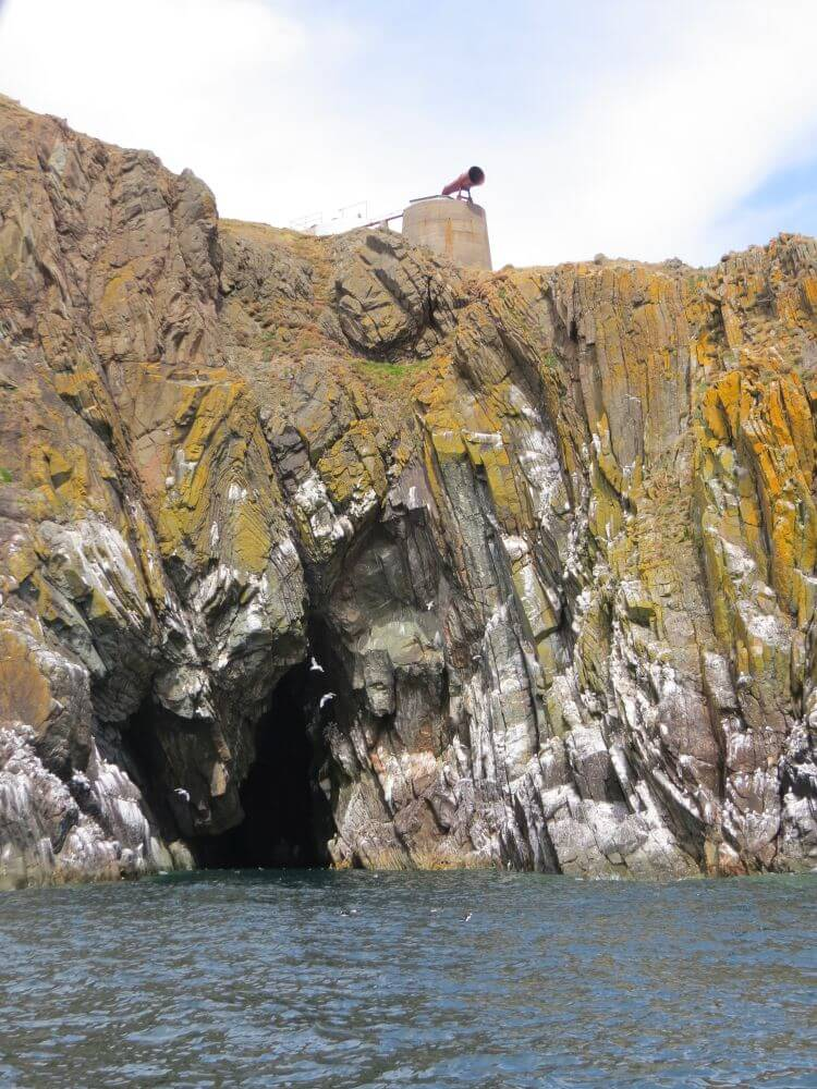 Fog Horn, Luce Bay, Mull of Galloway Lighthouse. Onyermarks Evening wildlife and fishing trips.
