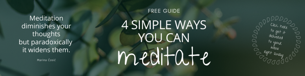 What is meditation + how to meditate