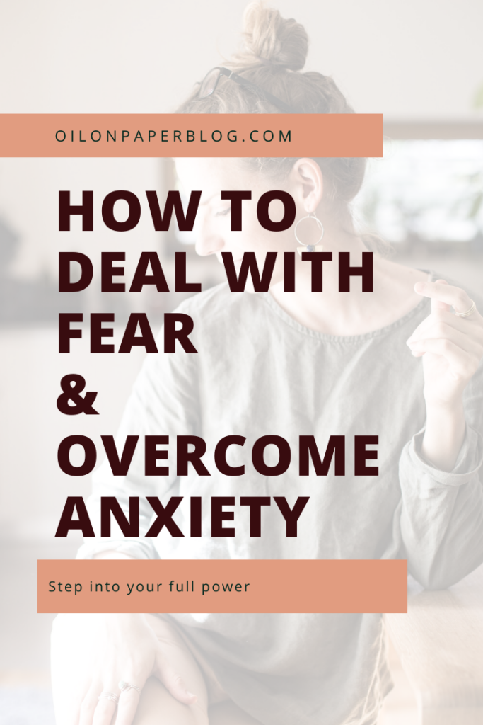 This is a guide on how to deal with fear and how to overcome fear and anxiety