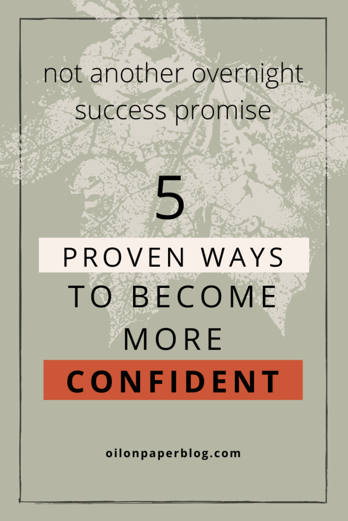 5 ways to build your confidence