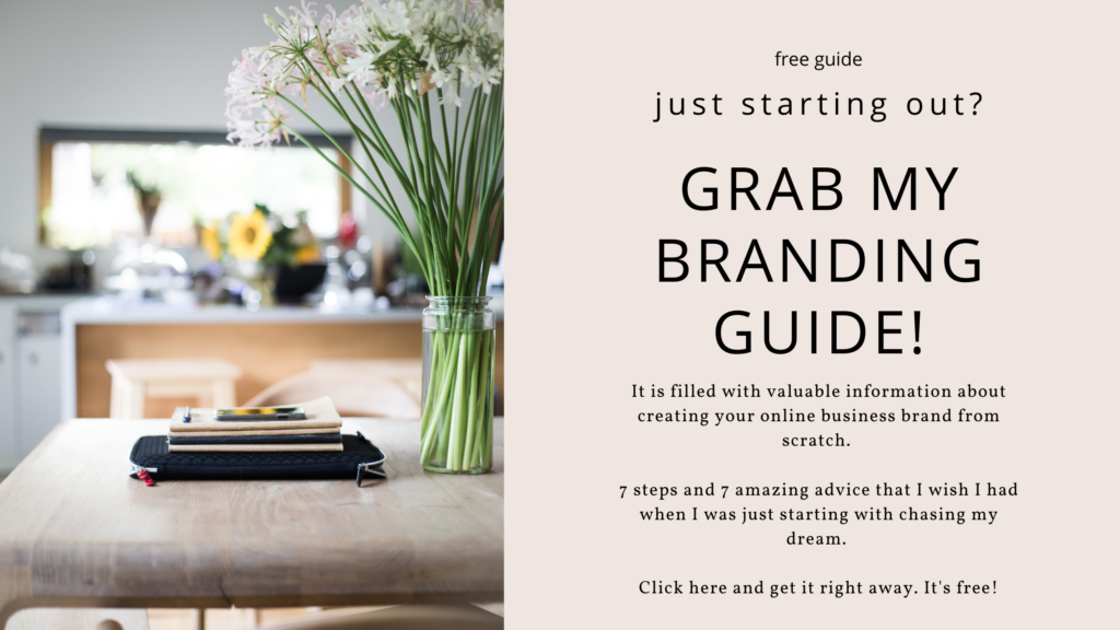 A free Branding guide for new business owners