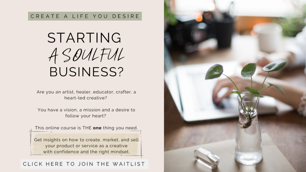 Starting a creative business online course education