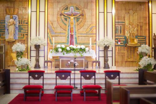 Altar flores decoracion bodas