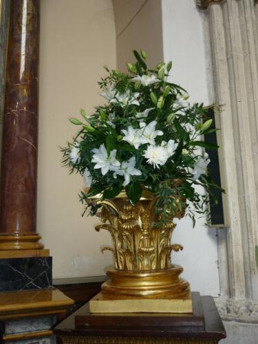Bodas Ceremonia jarron flores