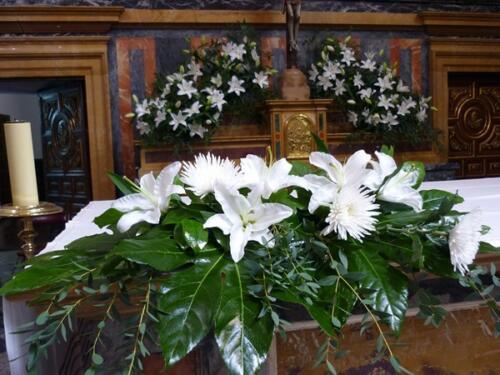 Bodas flores iglesias