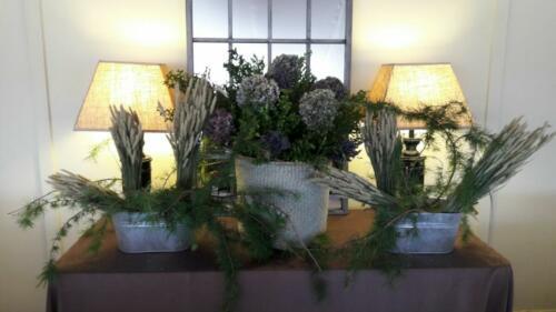 Centro floral bodas