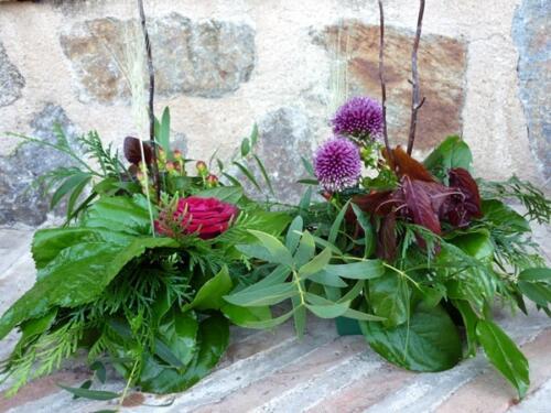 Centro-flores-boda-rústica