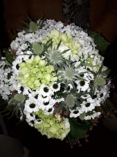 Centro flores bouquet
