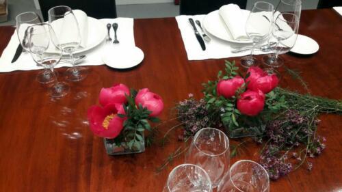 Centro flores comida empresa
