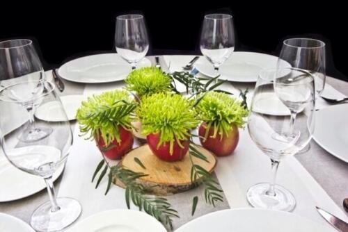 Centro mesa plantas