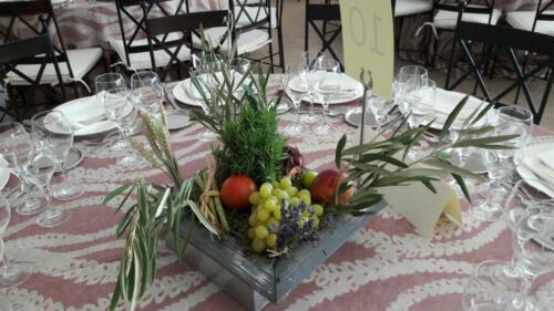 Centro mesas bodas