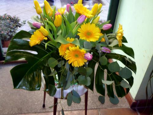 Decoración floral empresas