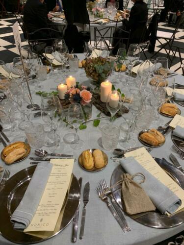 Decoracion mesas banquete boda