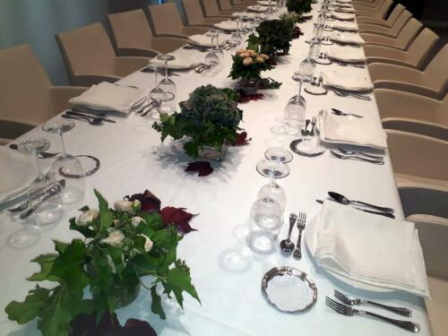 Mesa banquete decoracion