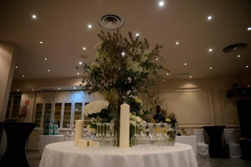 Mesa centro bodas
