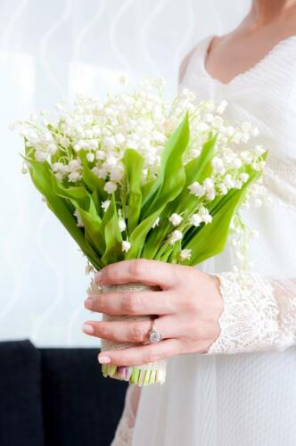 Ramo boda sencillo