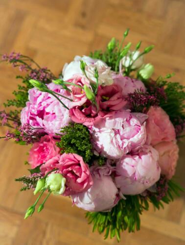 Ramo nova flores rosas
