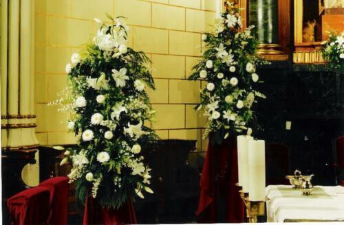 Torre flores boda