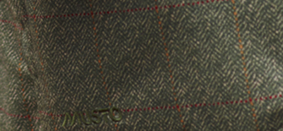 A closer look at the Macnab printed tweed pattern