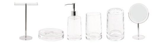 Glam Bathroom Accessories