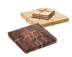 T&G Wooden Placemats and Coasters