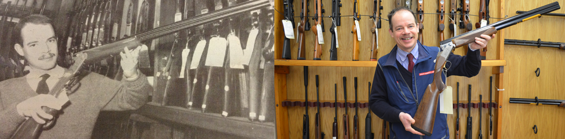 Mark Jones - Expert manager of our gunroom for over 30 years
