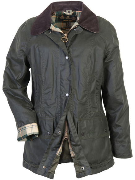 Barbour Ladies Beadnell Wax Jacket Available at Philip Morris and Son