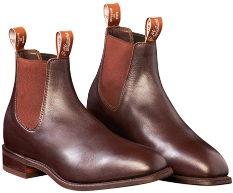 R.M Williams Chestnut Craftsman Boots available from Philip Morris