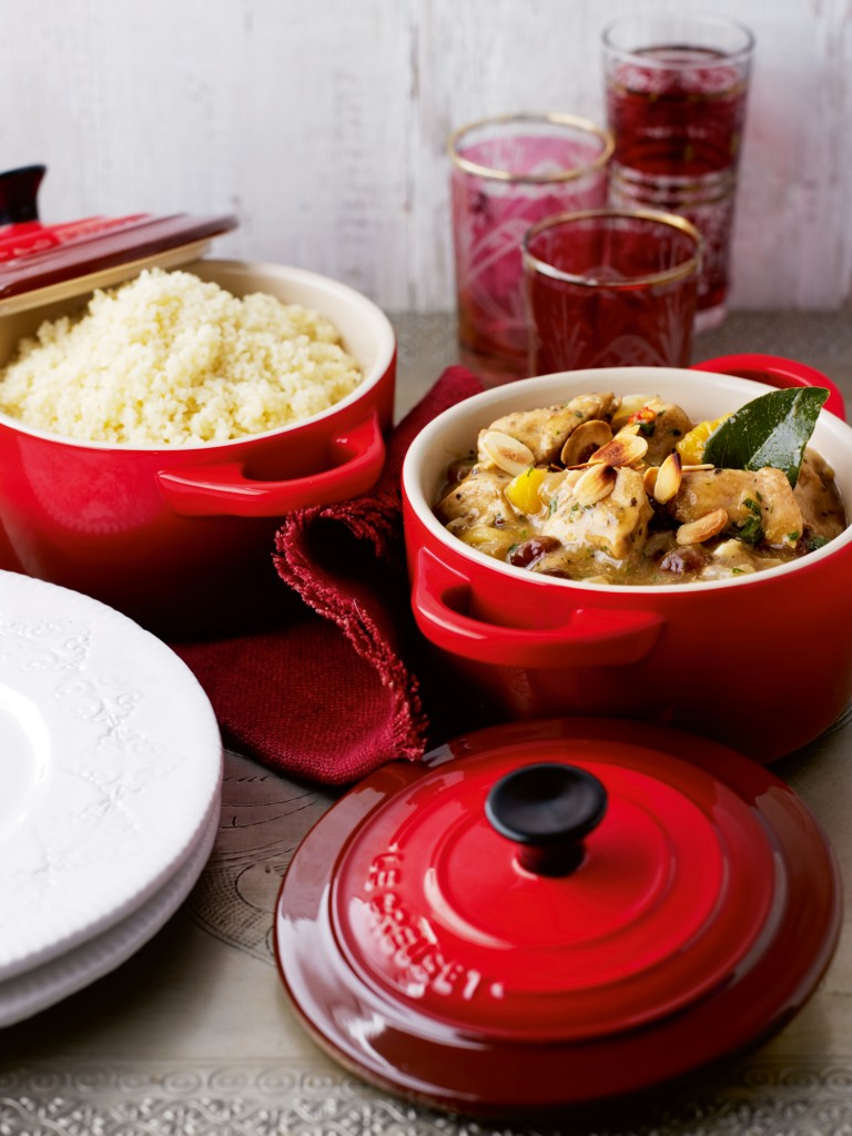 Cerise Le Creuset Cookware at Philip Morris