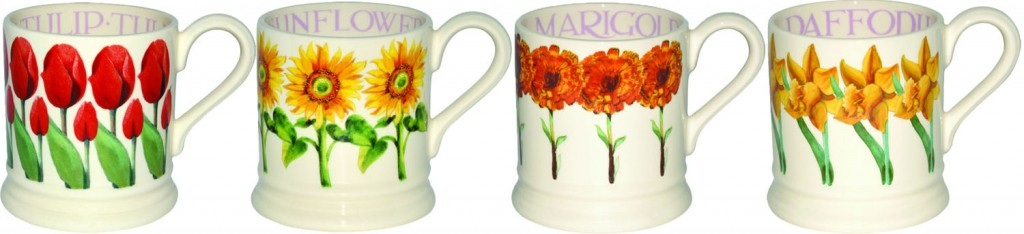 Emma Bridgewater Floral Mugs - what's your Mum's favourite flower?