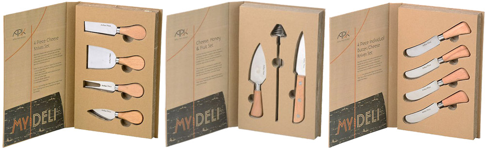 Arthur Price My Deli - Selection of Cheese/Fruit/Steak Knife Sets