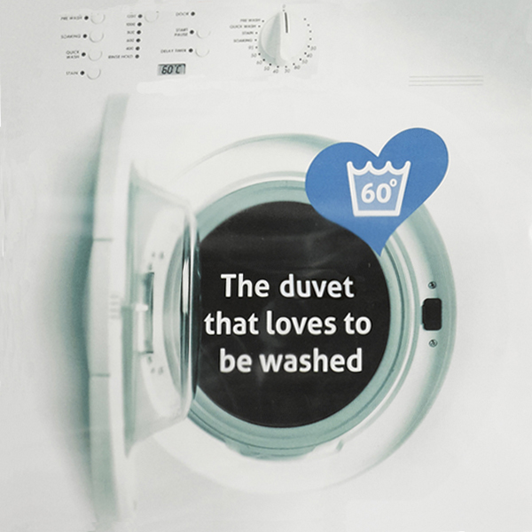 The Fine Bedding Company Spundown Duvet - loves to be washed!