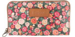 Barbour British Waterways Purse in May Fair