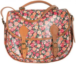 Barbour British Waterway Satchel in May Fair