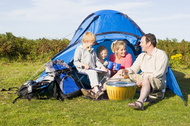 You can count on the LotusGrill to be safe enough to take camping or on picnics...