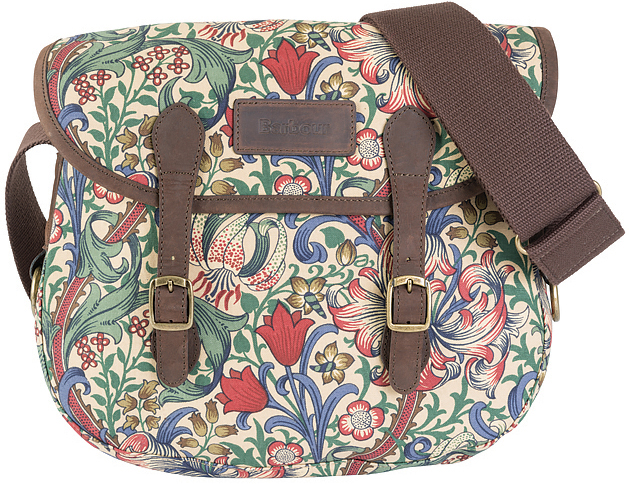 Barbour Golden Lily Reiver Bag - Part of the Ladies William Morris Range