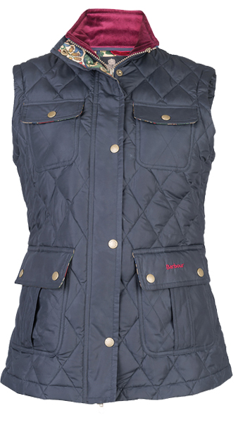 Barbour Craft Gilet - Part of the Ladies William Morris Range