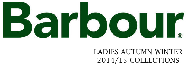 Barbour Ladies Autumn Winter 2014/15 Collection