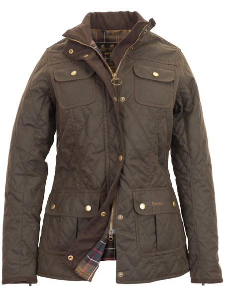 Barbour Ladies Quilted Utility Jacket - Part of the Ursula Range