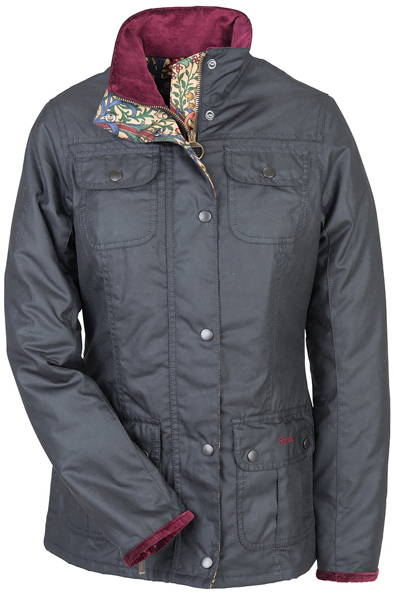 Barbour Scholar Jacket - Part of the Ladies William Morris Range