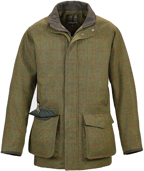 Lightweight, Machine Washable Tweed Shooting Jacket from Musto