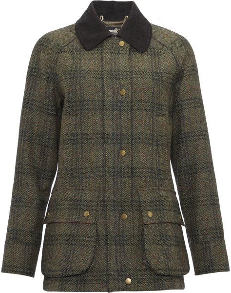 Barbour Ladies Edworth Tweed Beadnell Jacket - Part of the Estate Tweed Range